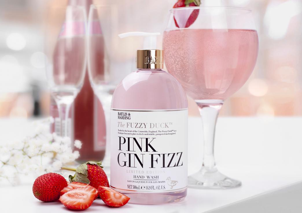 Image for Pink Gin Fizz